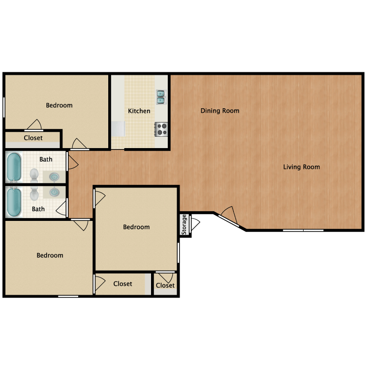 Floor plan image of Flat 4