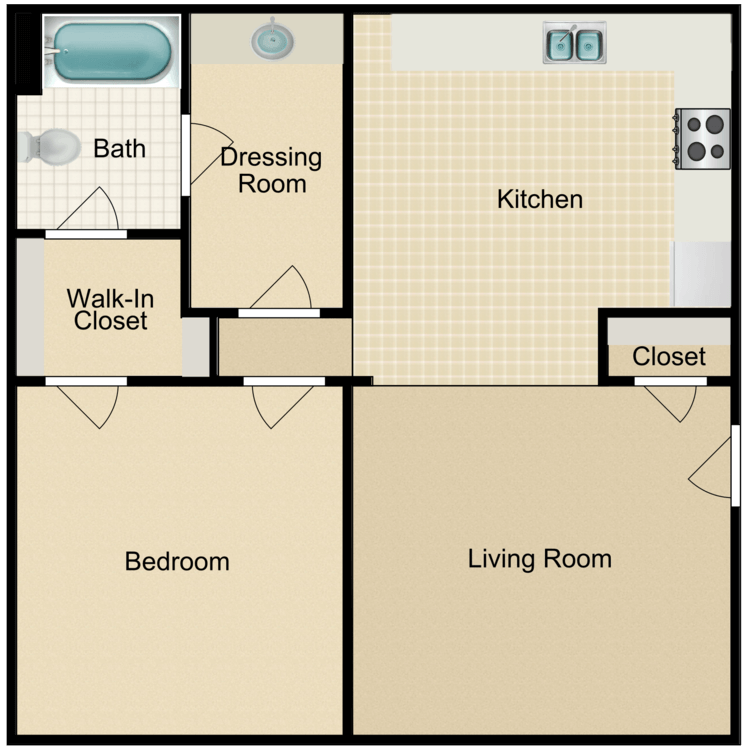 Floor plan image of The Finch
