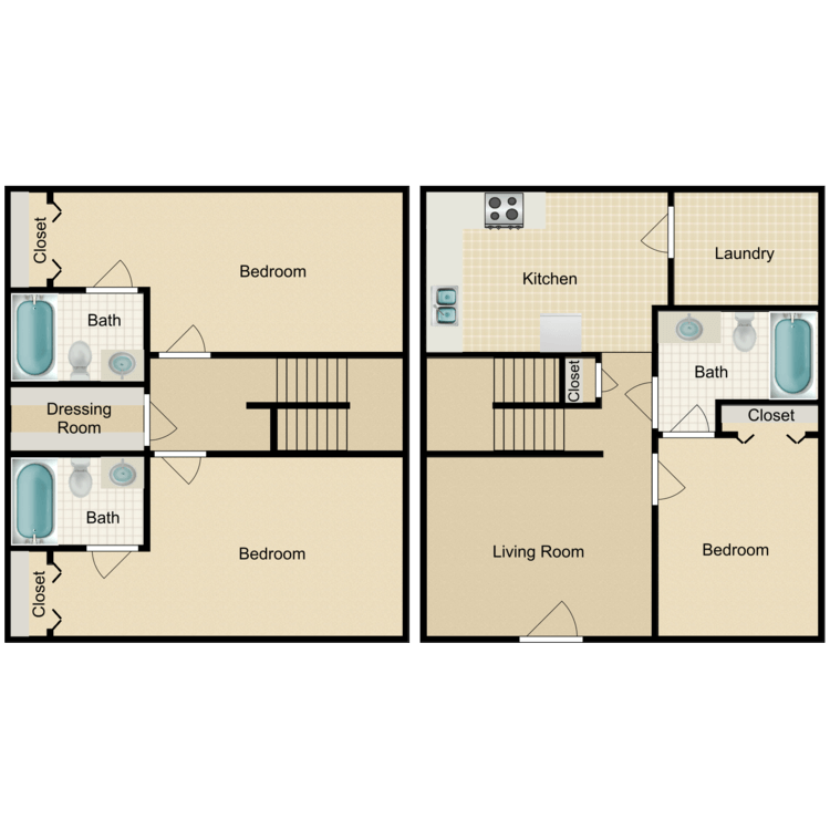 Floor plan image of The Tennessee