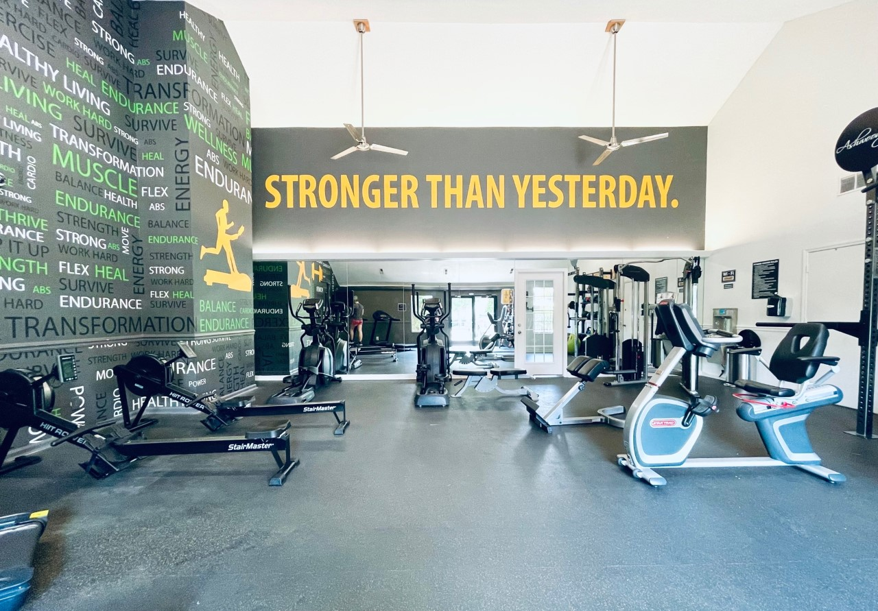 We have a state-of-the-art fitness center