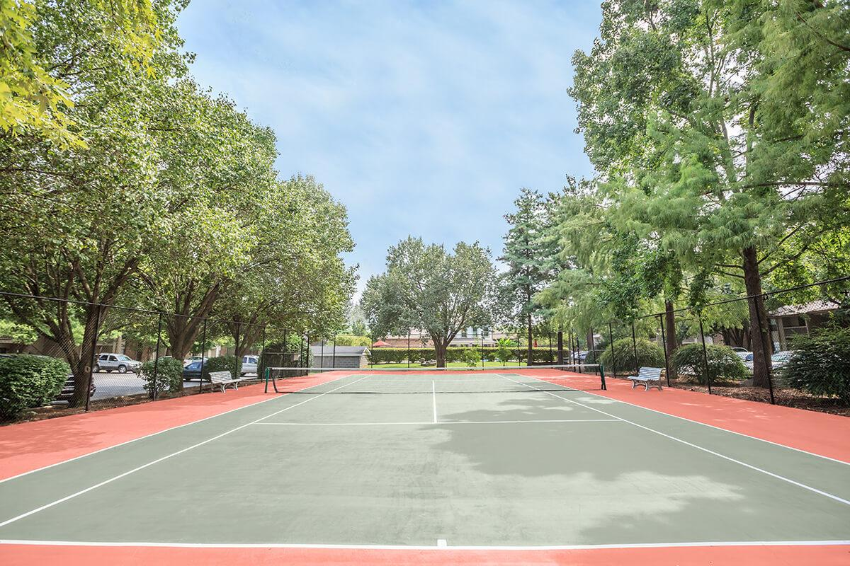 We have a tennis court at Ashwood Cove