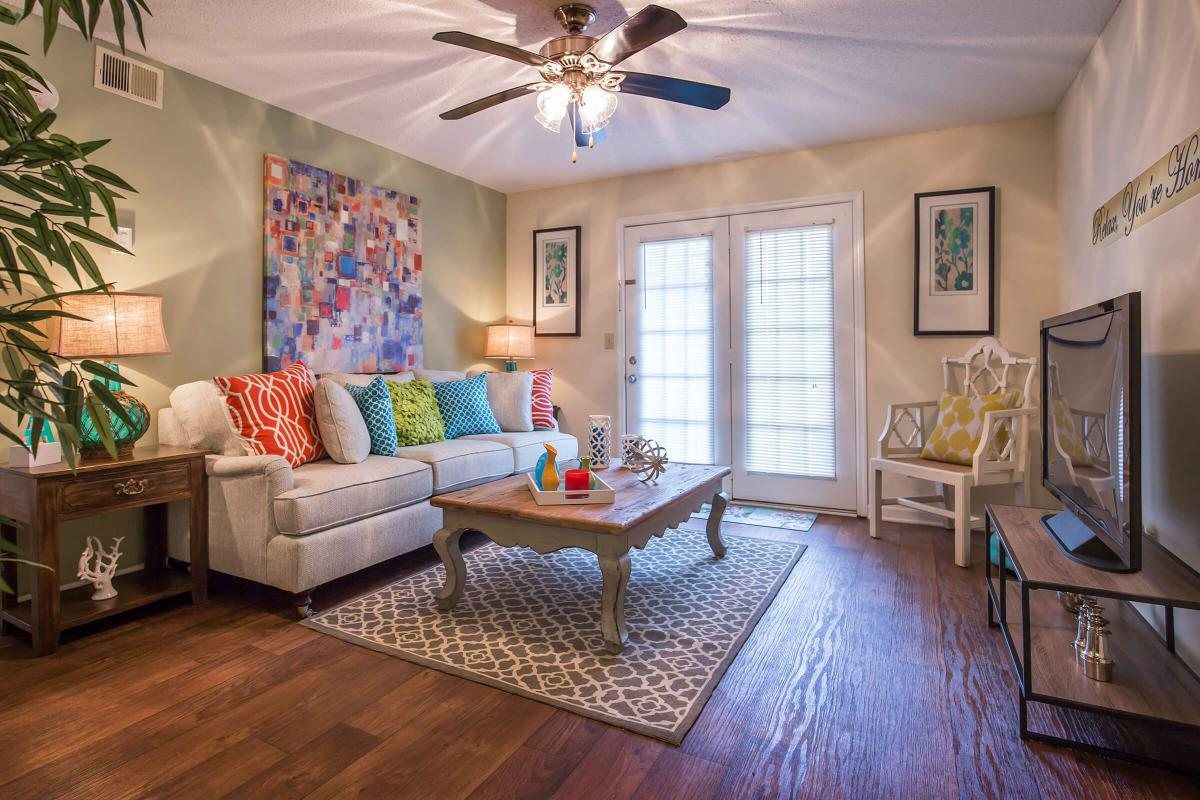 Your new living room in the Dogwood at Ashwood Cove