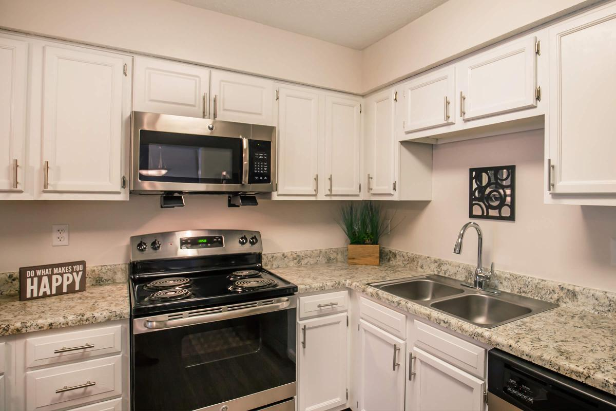 We have a fully-equipped kitchen in The Juniper at Ashwood Cove