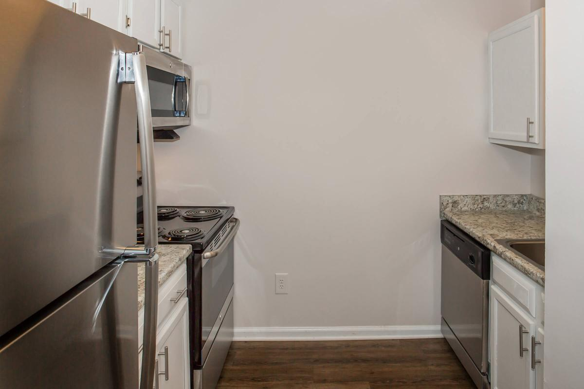 We have a fully-equipped kitchen in The Pine at Ashwood Cove