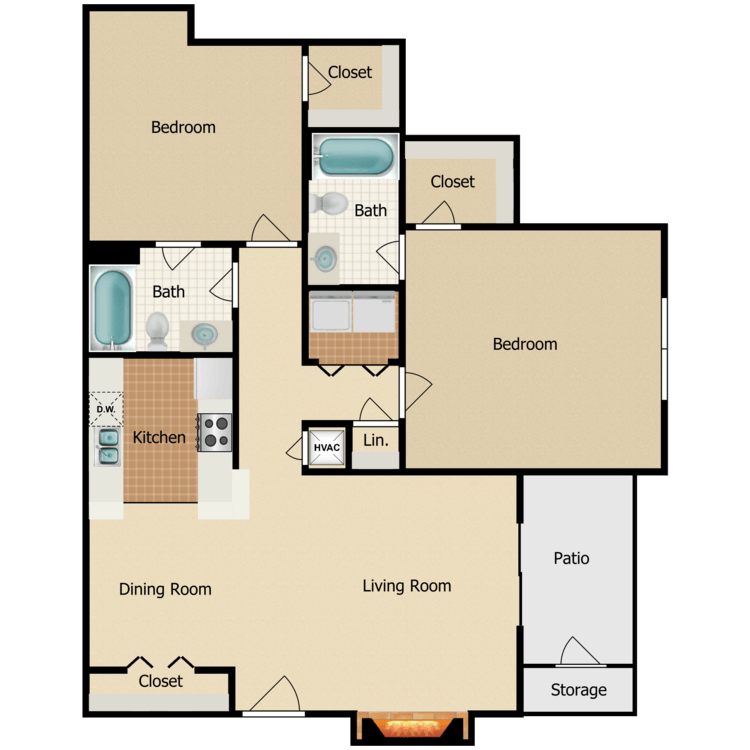 Floor plan image of Athenia