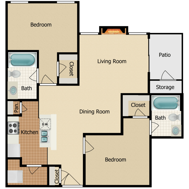 Floor plan image of Corinthia