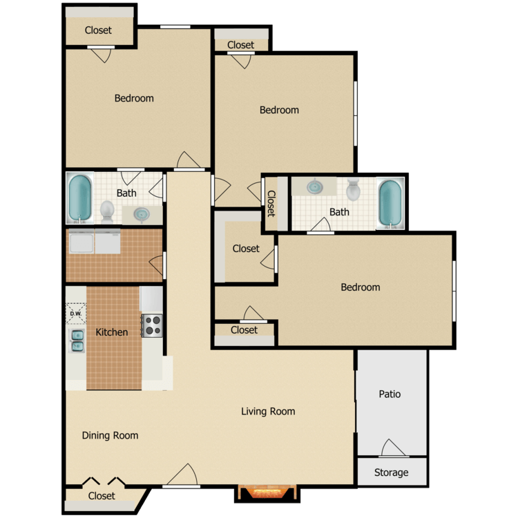 Floor plan image of Italia