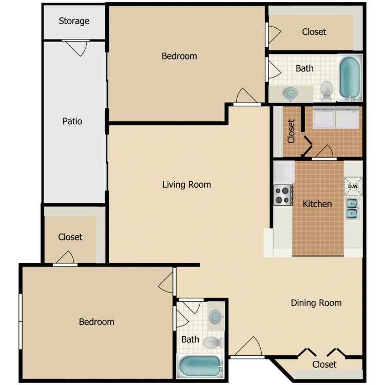 Floor plan image of Olympia