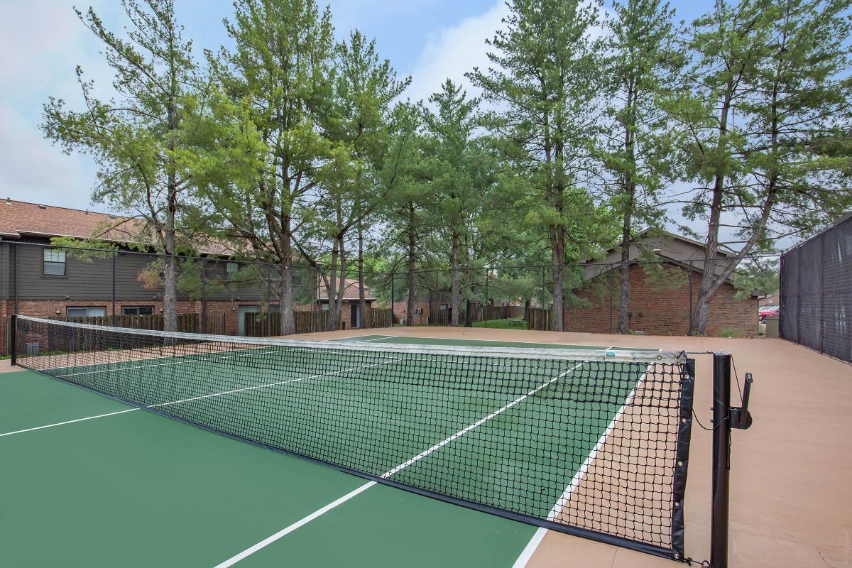 Enjoy the Tennis Court Here at Colony House Apartments For Rent In Murfreesboro, Tennessee