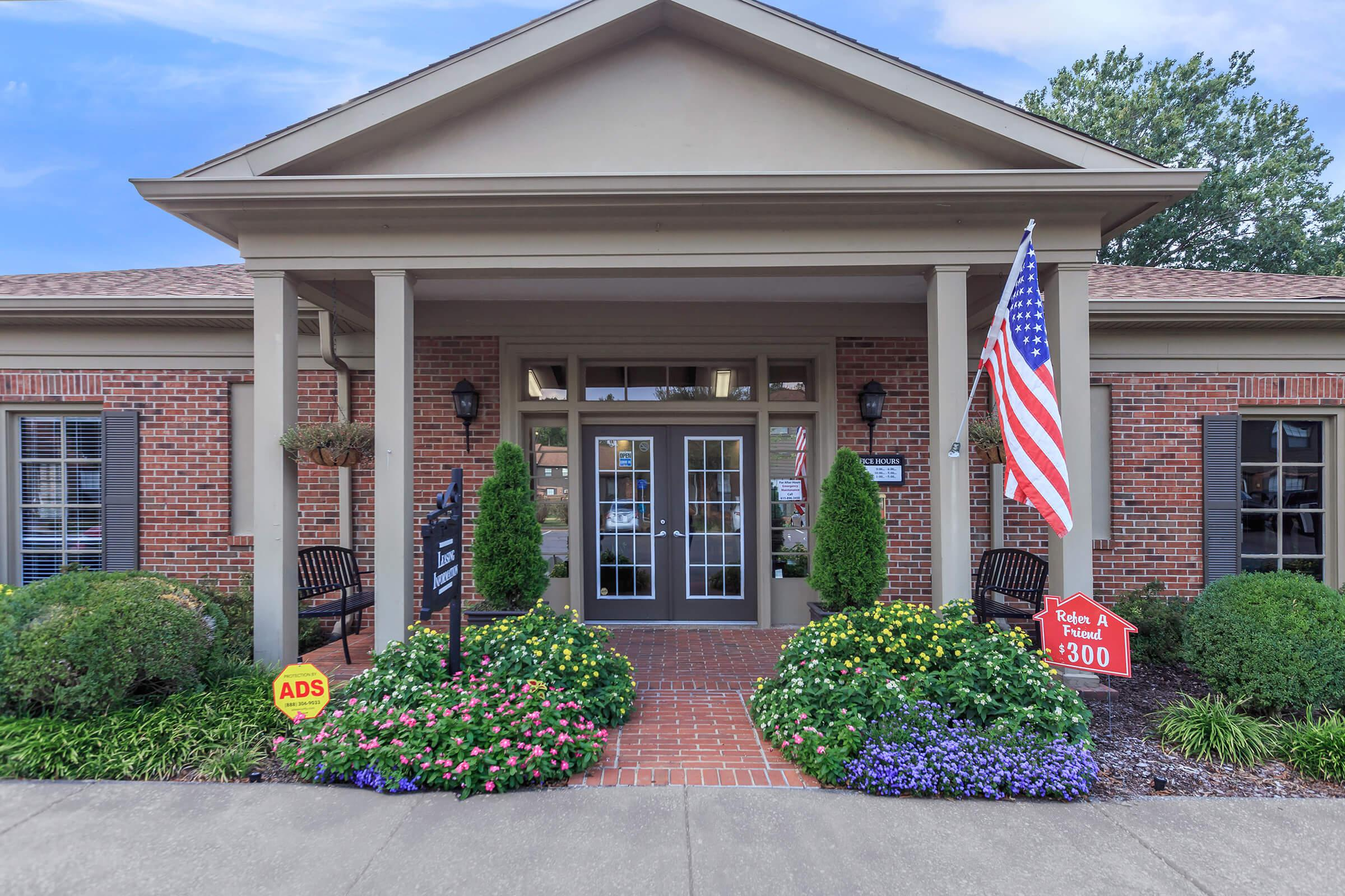 Our Leasing Office Here at Colony House Apartments For Rent In Murfreesboro, Tennessee