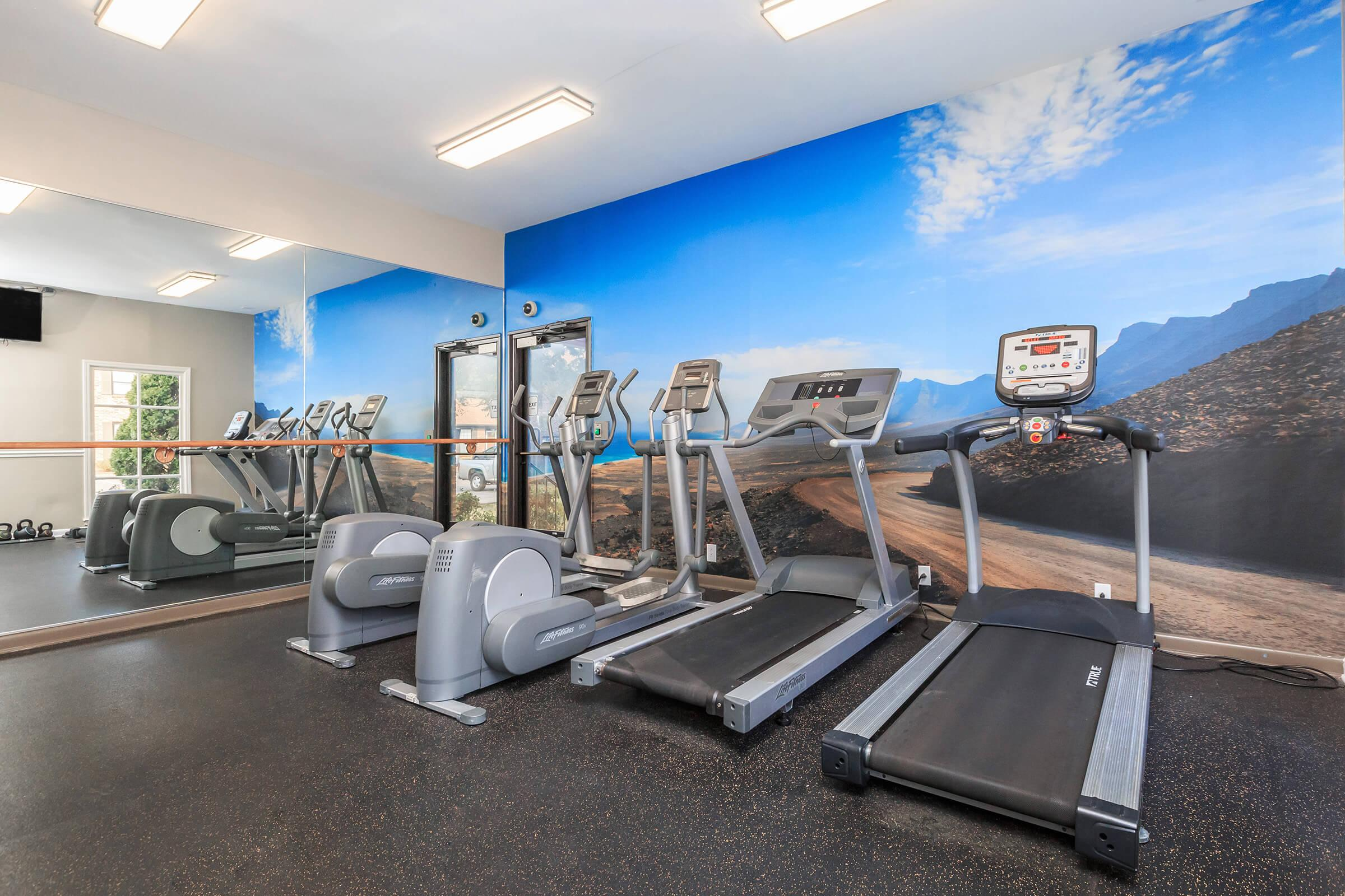 Staying in Shape is Easy Here at Colony House Apartments For Rent In Murfreesboro, Tennessee