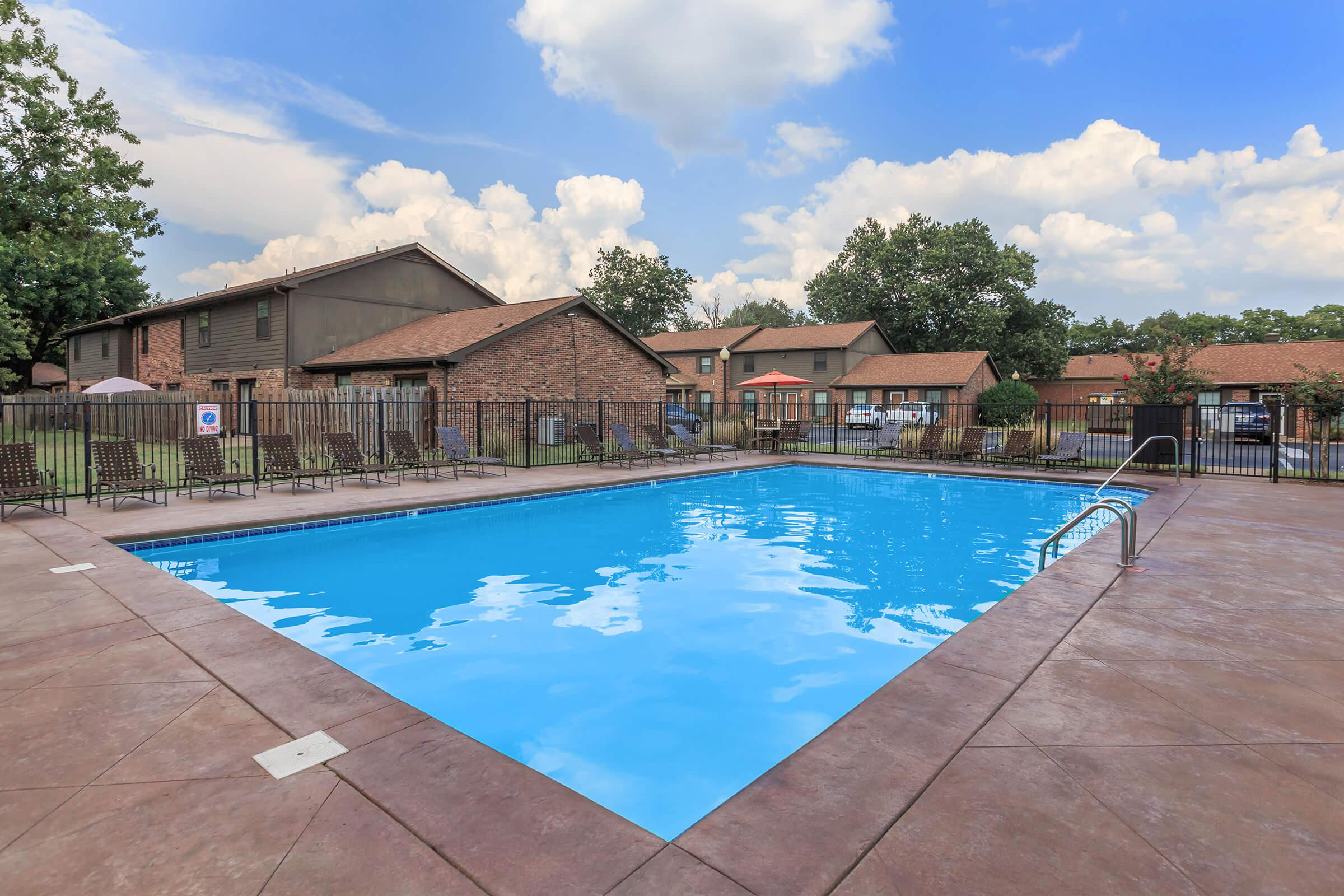 Swimming Pool with Sundeck at Murfreesboro, Tennessee