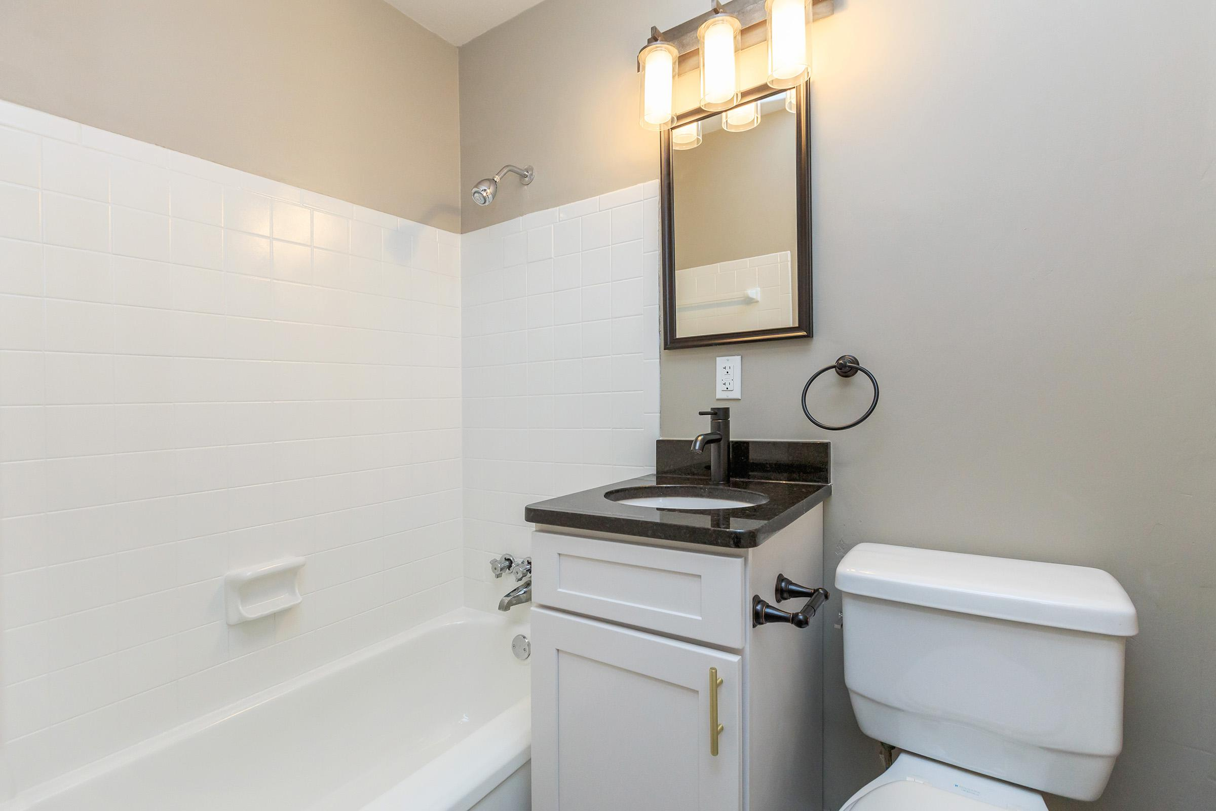 Modern Bathroom at The Lincoln at Colony House in Murfreesboro, TN