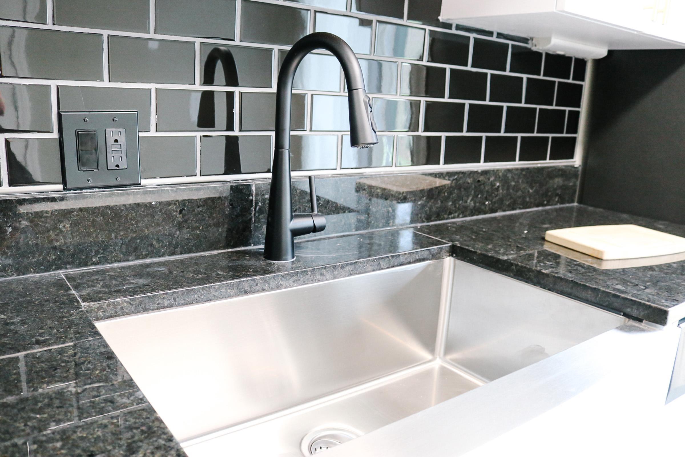 Deep Farmhouse Kitchen Sink