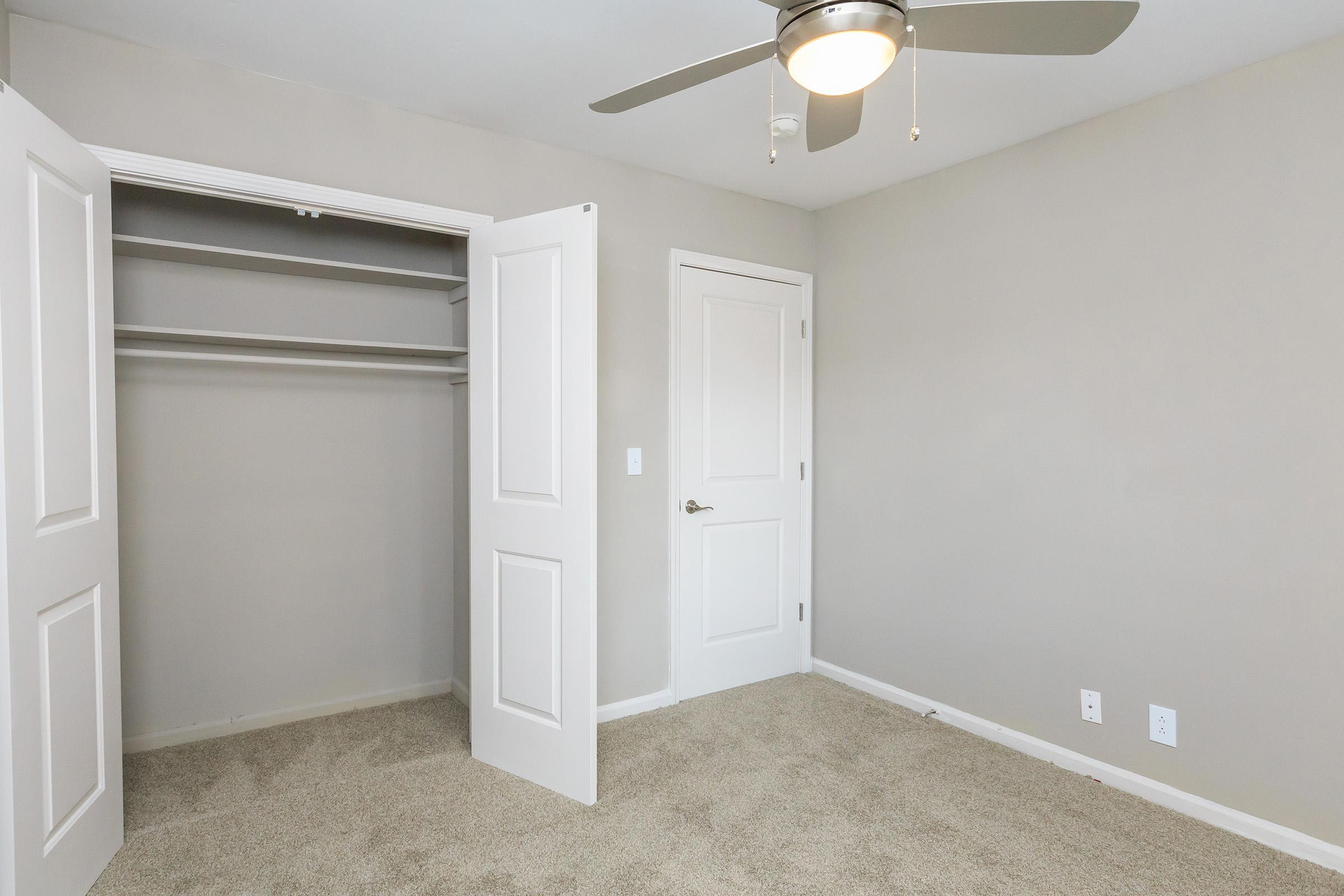Ample closet space at Colony House in TN