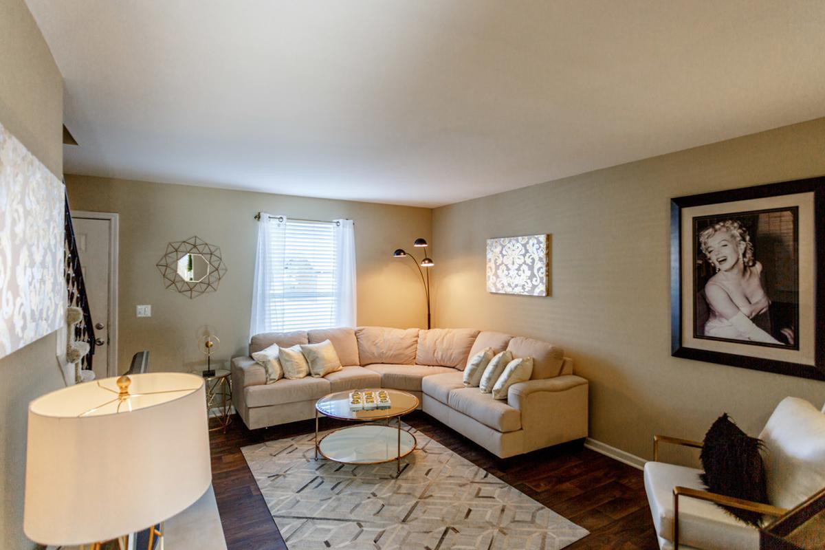 The Washington two bedroom floor plan in TN