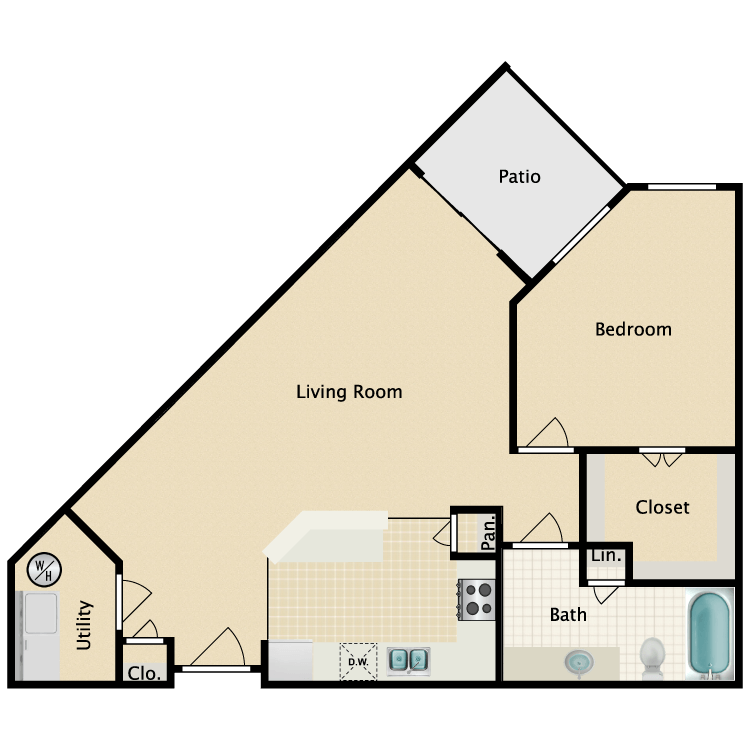 Floor plan image of Plan A3