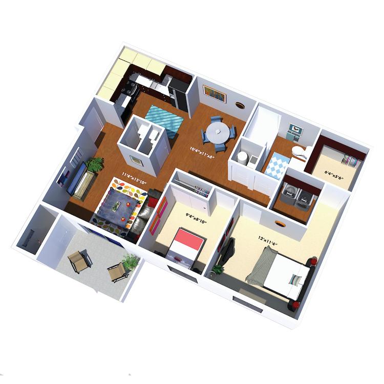 Floor plan image of The Reynolds