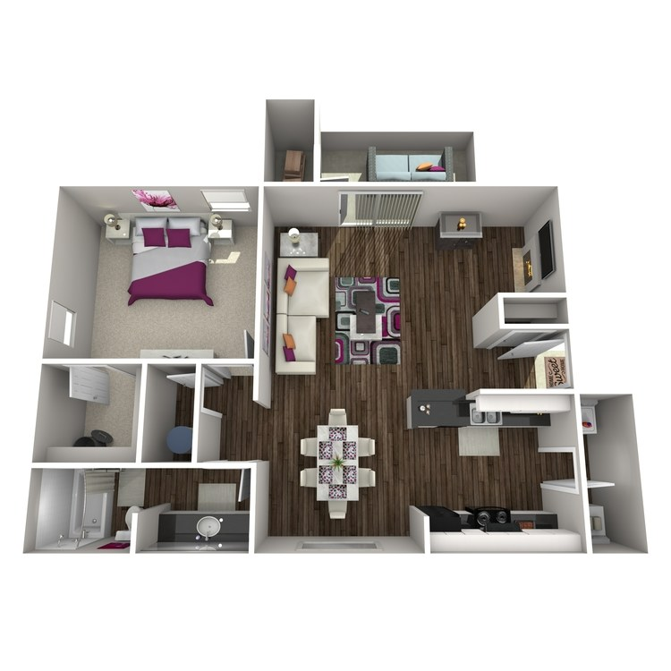 Floor plan image of Albizia