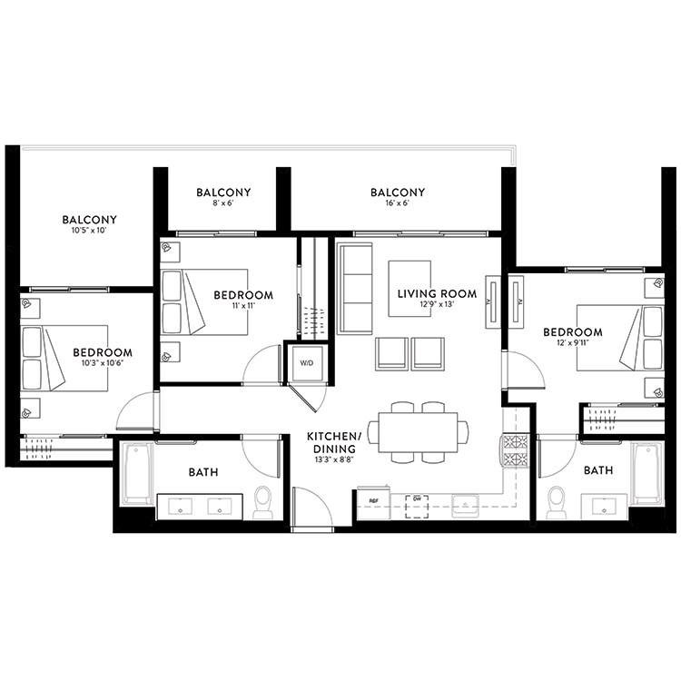 Plan 3A floor plan image