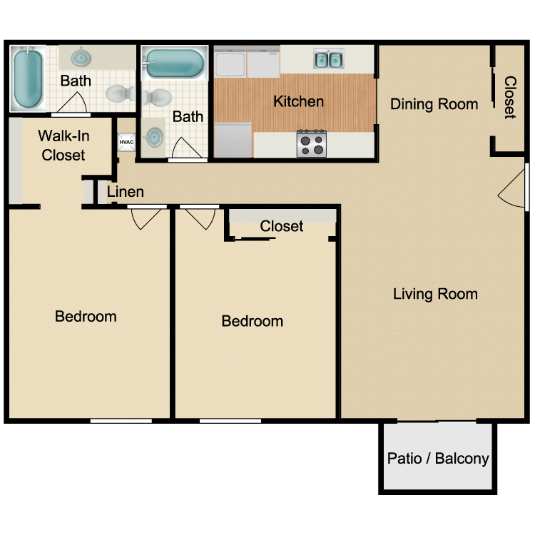 Floor plan image of The Belmont