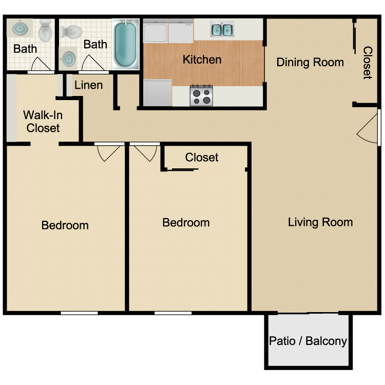 Floor plan image of The Franklin