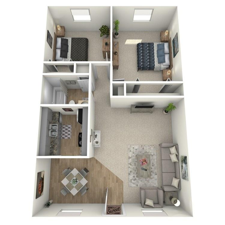 Floor plan image of Kiawah
