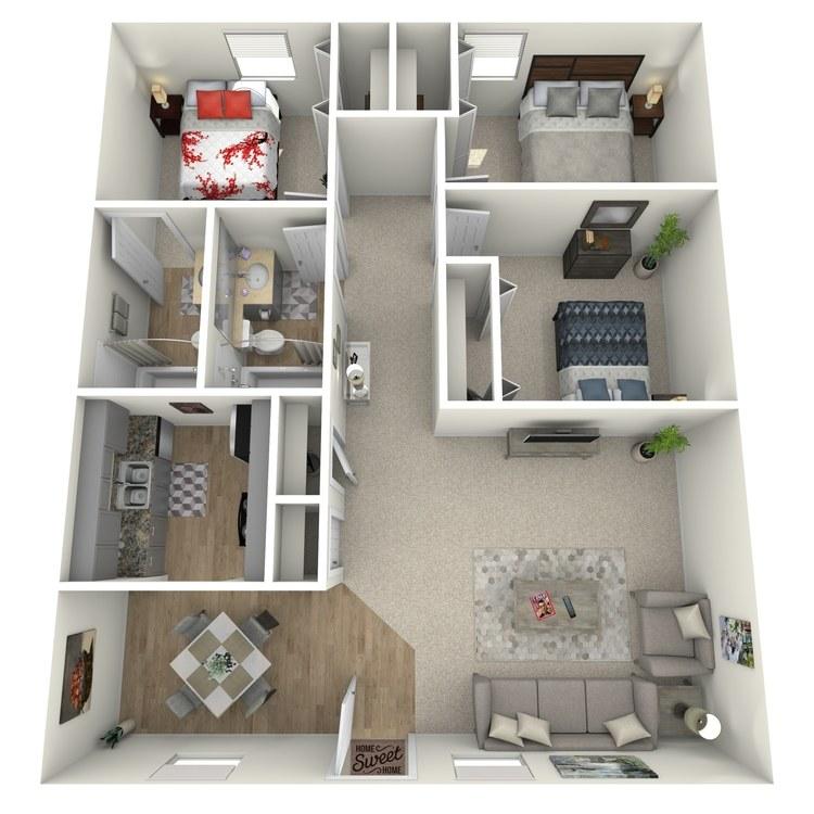 Floor plan image of Folly