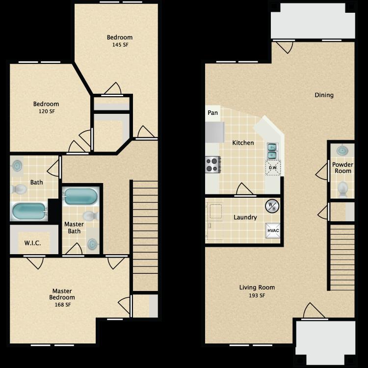 Floor plan image of C Townhome