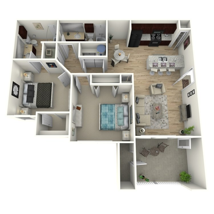 Floor plan image of B1