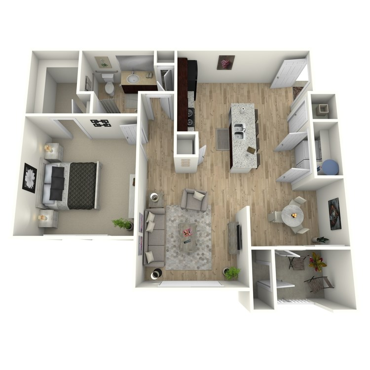 Floor plan image of A1 (ADA)