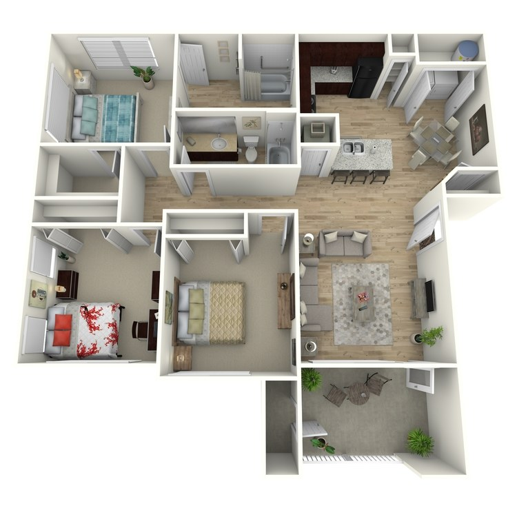 Floor plan image of C1(ADA)