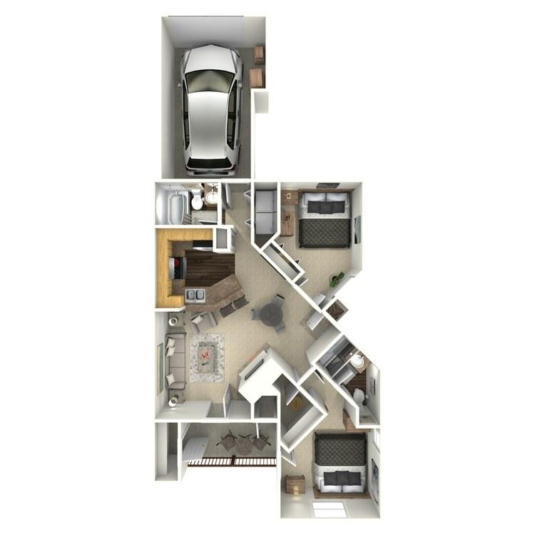 Floor plan image of Douglas