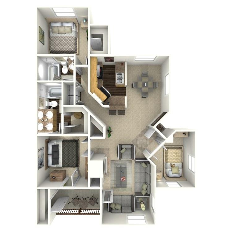 Floor plan image of Nobel