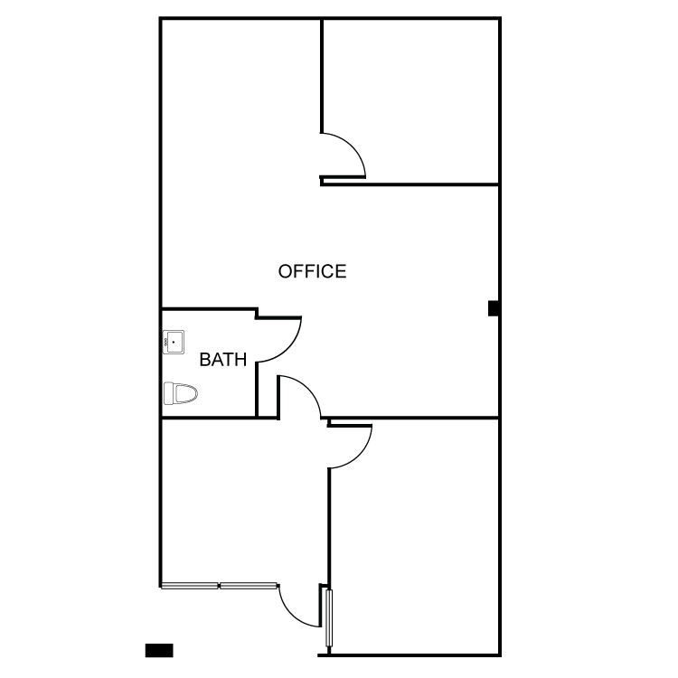 Floor plan image of 3873 Schaefer Ave Suite H