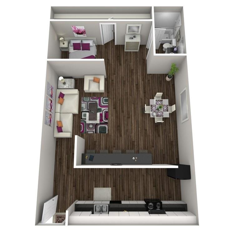Floor plan image of Anjelica