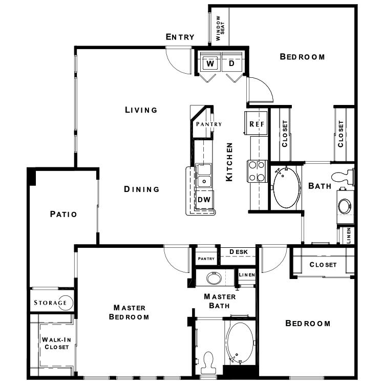 Floor plan image of The Elite