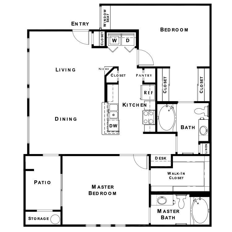 Floor plan image of The Jewel