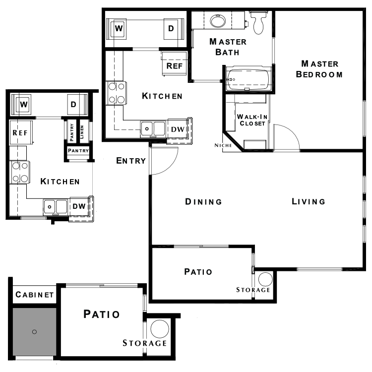 Floor plan image of The Oasis