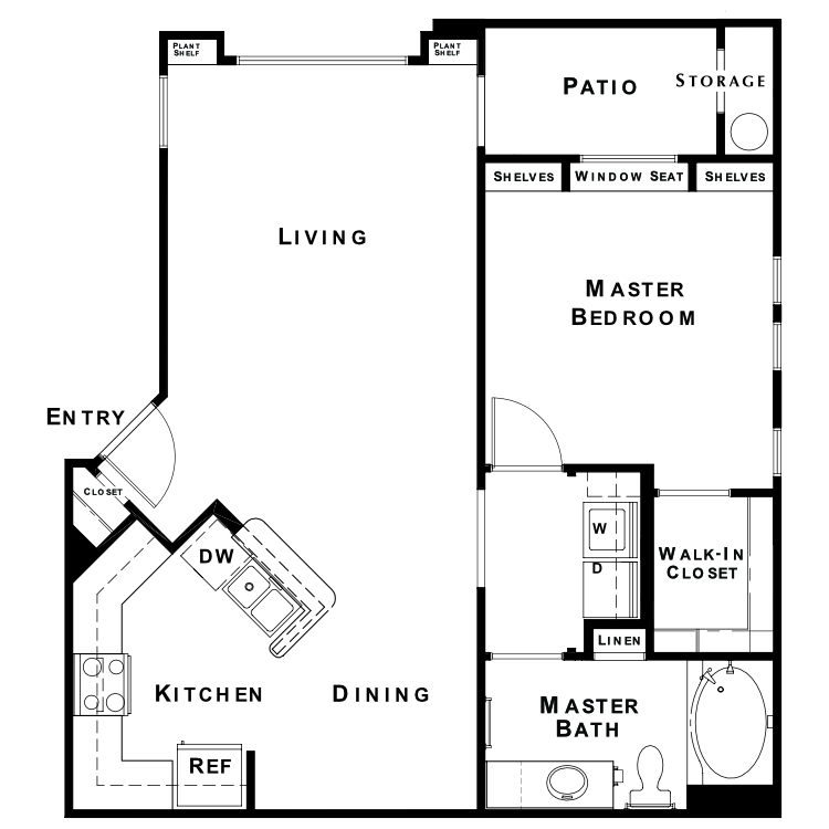 Floor plan image of The Signature