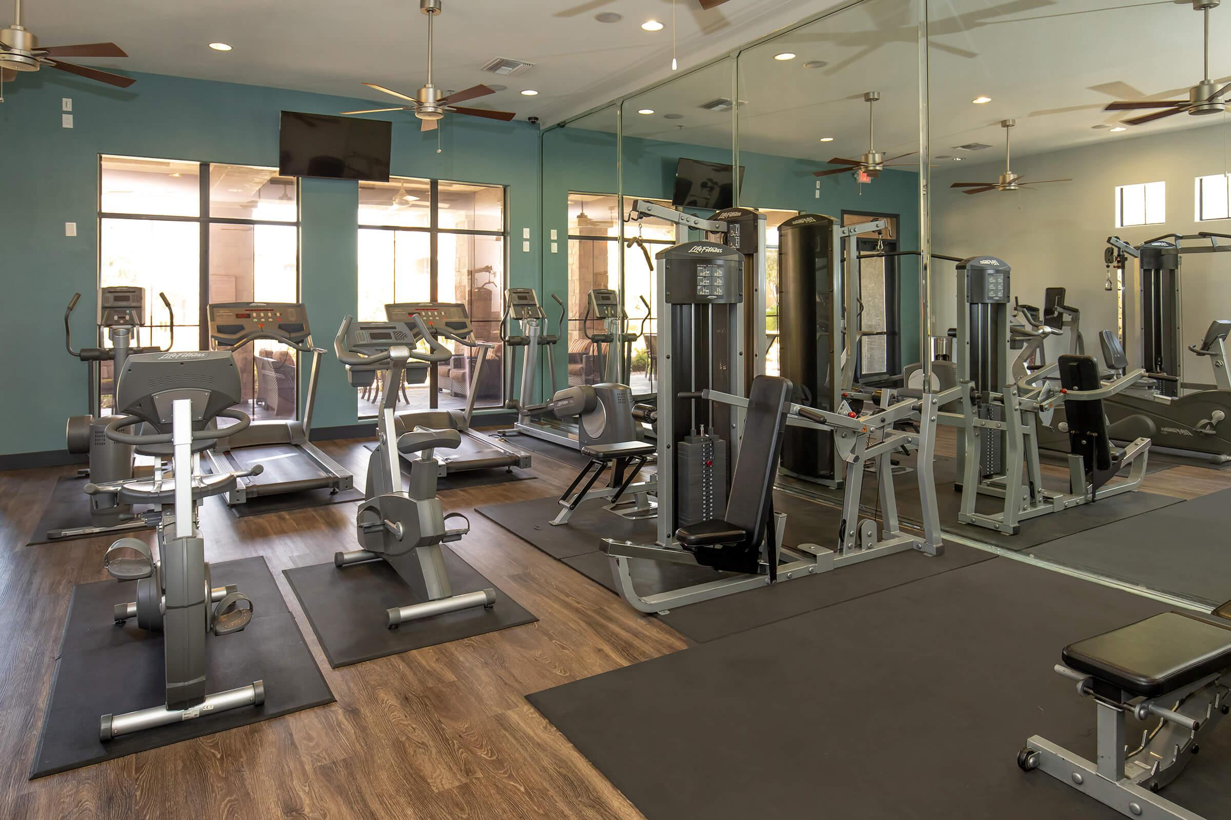STAY FIT WITH OUR EXERCISE FACILITY