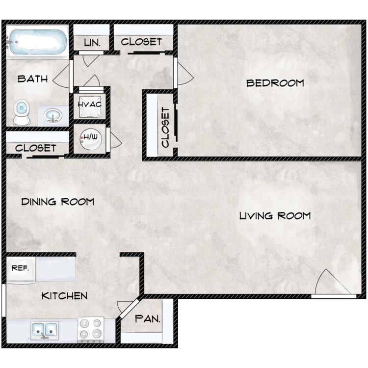 Floor plan image of The Pine