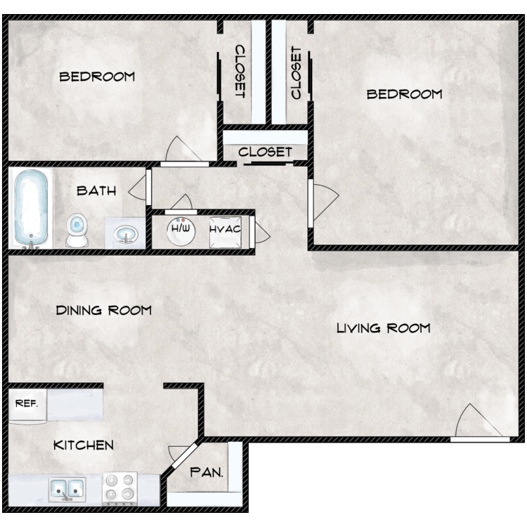 Floor plan image of The Palm