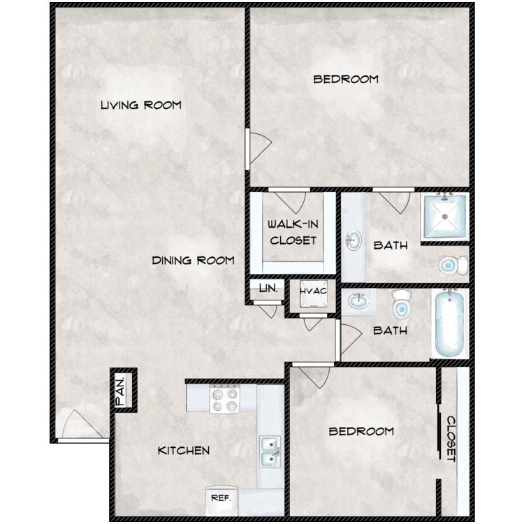 Floor plan image of The Hawthorn