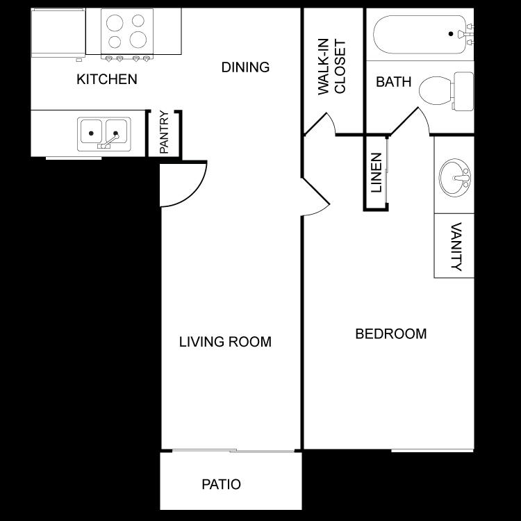 Floor plan image of Bella