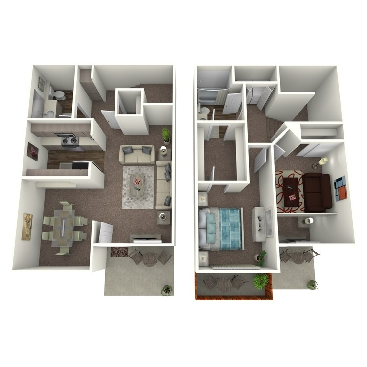 Floor plan image of Blue Spruce