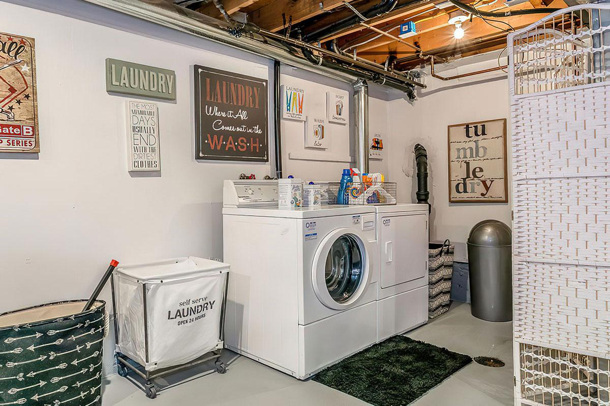 Laundry Room at Stratus Townhomes, Apartments in  Westminster, CO