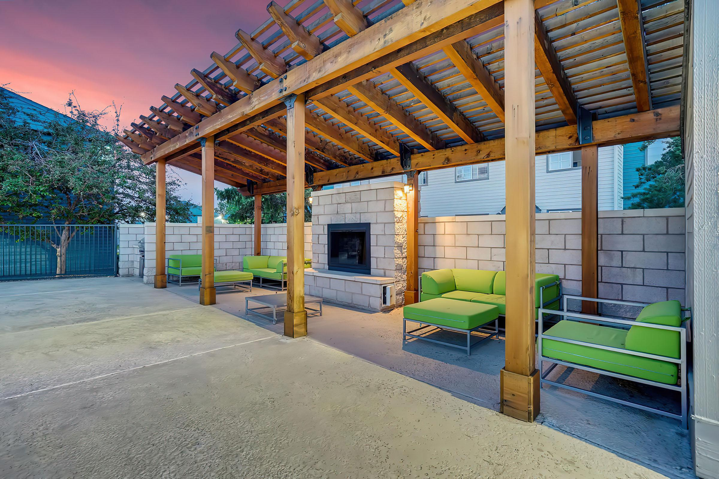 Common Area at Stratus Townhomes, Apartments in  Westminster, CO