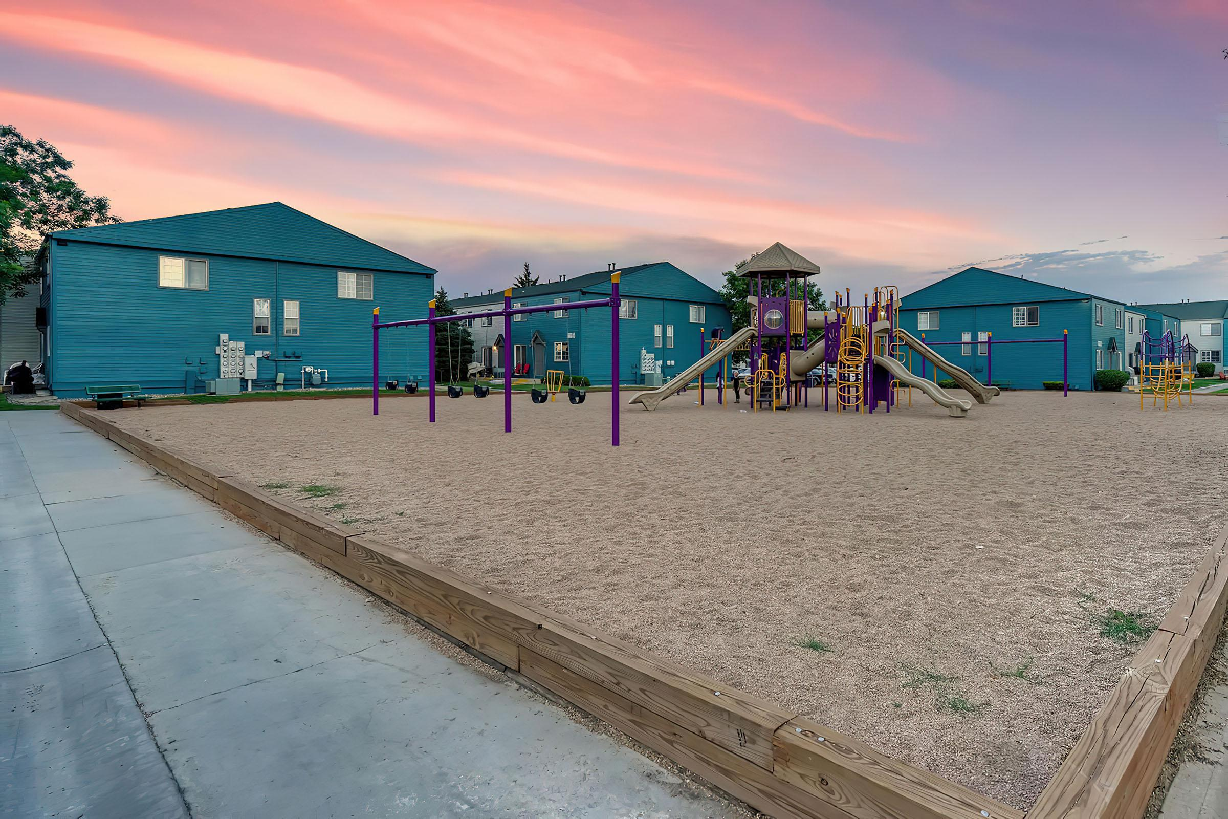 Playground at Stratus Townhomes, Apartments in  Westminster, CO