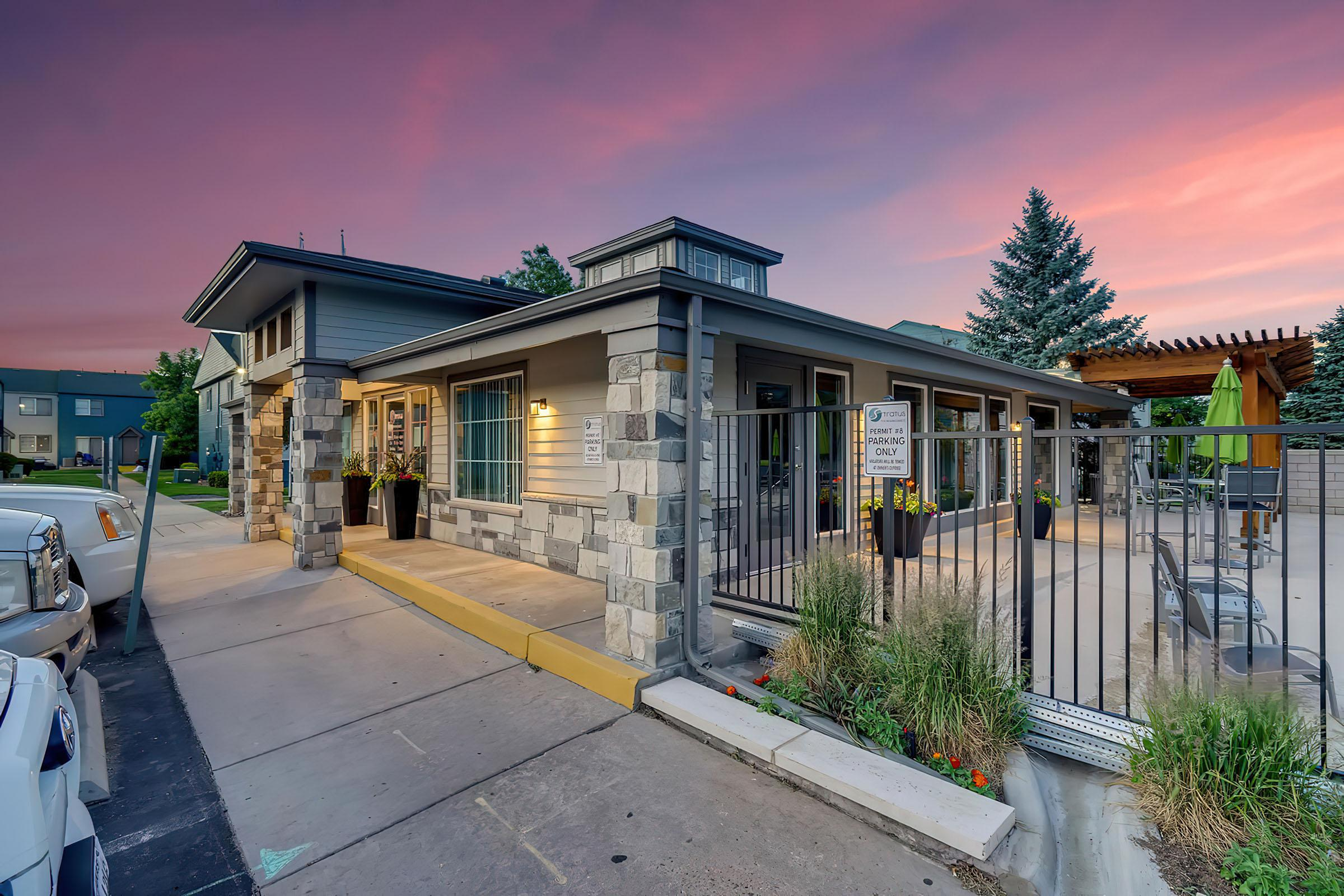Outside at Stratus Townhomes, Apartments in  Westminster, CO
